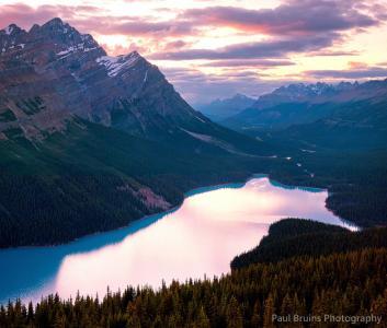 加拿大,班夫国家公园,湖