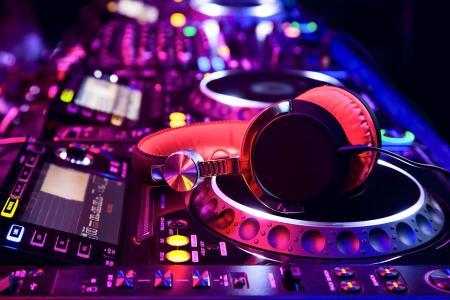 遥控器,DJ,宏观照片