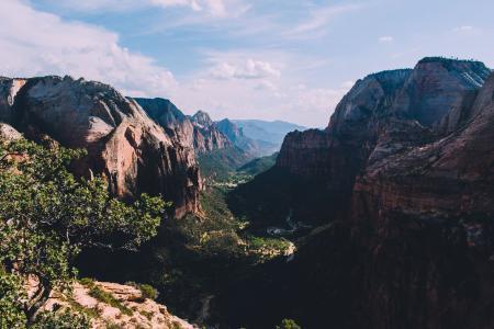 岩石,峡谷,性质
