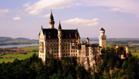 新天鹅堡,巴伐利亚,德国
