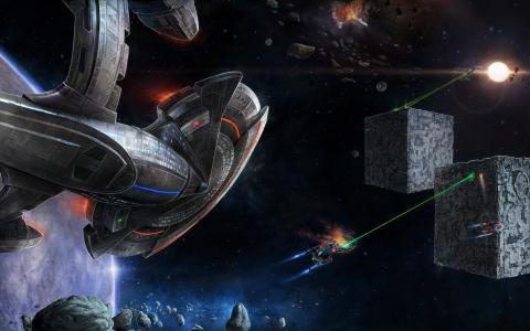 空间战争,星系