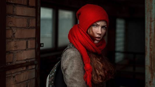 红发,构成,丁香,专业照片,查看,Georgiy Chernyadiev