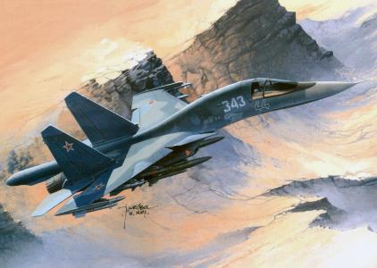 飞机,直升机,绘画,艺术家,壁纸