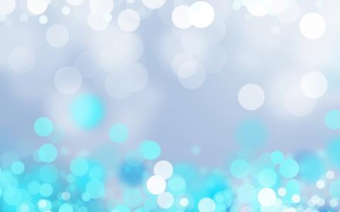 圈子,闪闪发光,蓝色