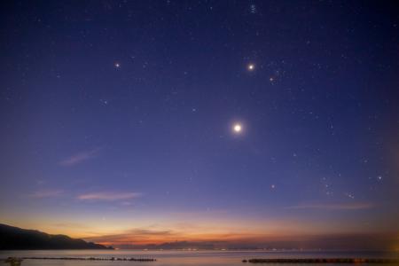 星座,风景,天空,星星