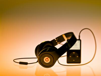 音乐,耳机,由博士。
