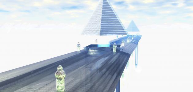 桥,路,高,幻想
