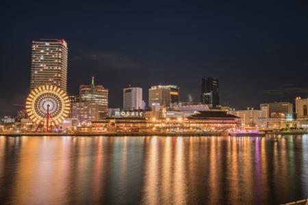 日本大阪建筑风景