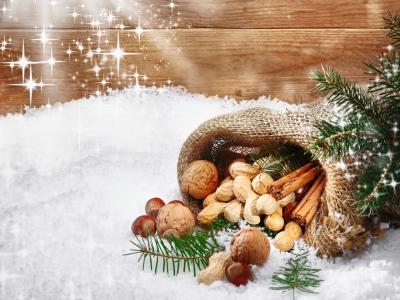 假期,雪,圣诞节,星星,新的一年