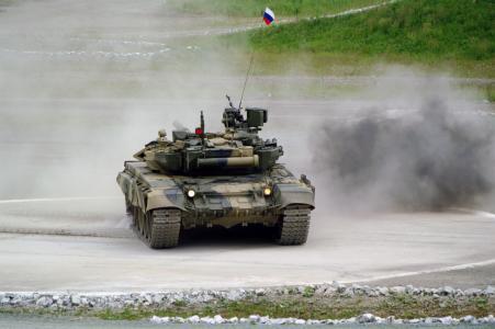 T-90,坦克,射程