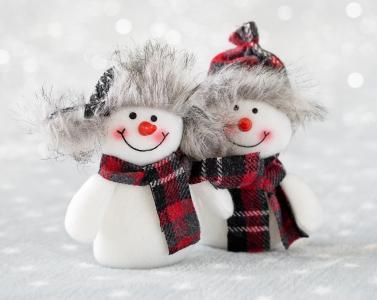 雪人,假日