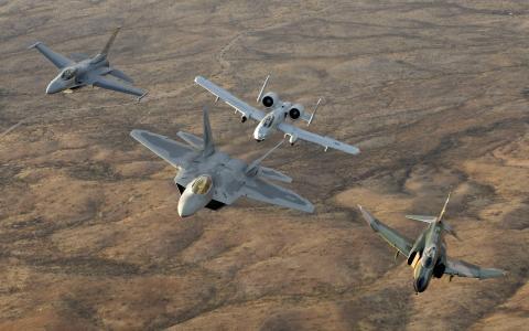 帅,建立,美国人,F  -  16的F  -  22 A10 F  -  4,战士