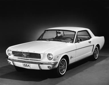 福特,福特野马,汽车,1964年,白色