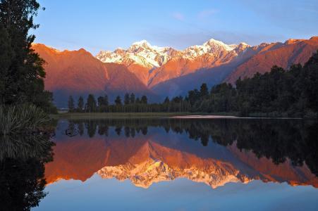 新西兰库克山风景