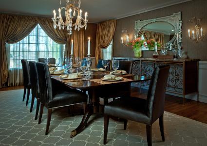 餐厅,房间,设计,房子,室内,别墅,风格
