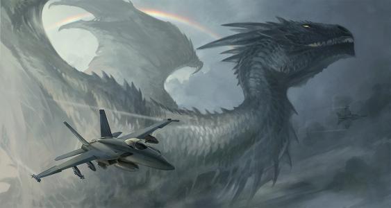混合彩虹,飞机,火箭,桑达拉,发18,龙,彩虹