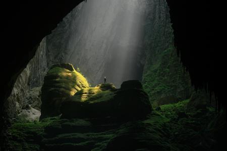 洞穴,越南,极端,娱乐,岩石,山脉,美丽