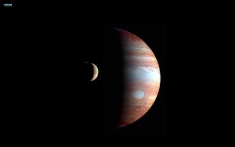太空壁纸»星球,木星,空间