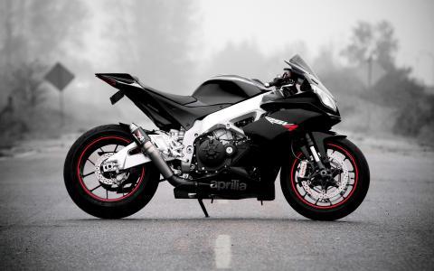 艾普瑞利亚,摩托车,摩托车,摩托车,道路,自行车