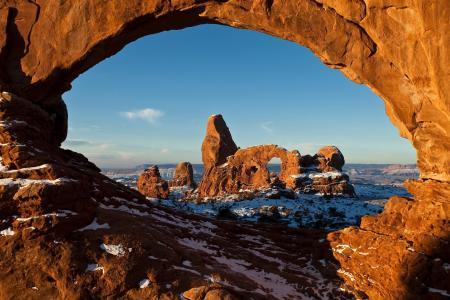 美国拱门国家公园风景