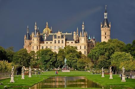 德国的城堡,德国的城堡,美丽