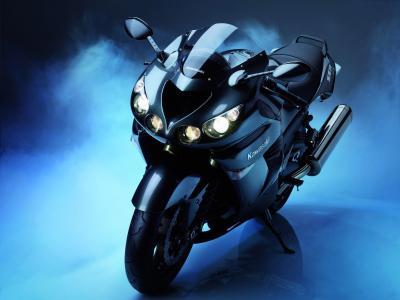 川崎,ZX14,摩托车