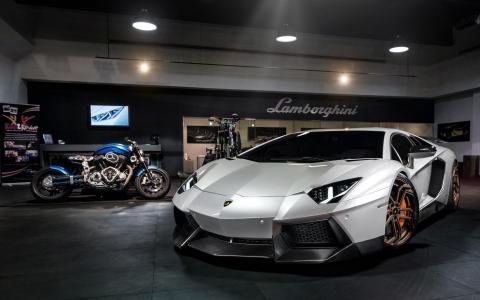 兰博基尼,Aventador,avto