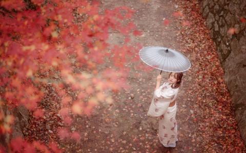 日式和服美女靓丽写真