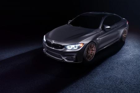 宝马,超级跑车,黑暗的背景