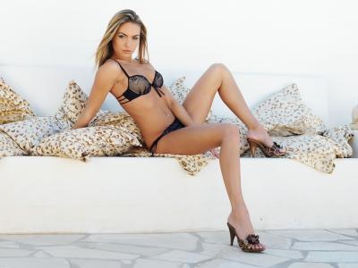 Veronika Fasterova,性感,女孩,看,情况,头发,模型,胸部,腿