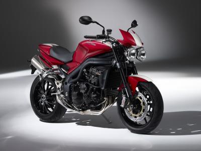 摩托车,胜利,速度,三倍,S E,2010年,摩托车
