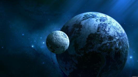 星星,行星,空间