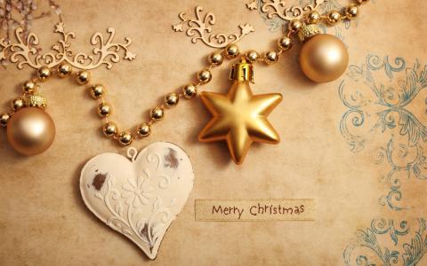 节日,圣诞节,新年,圣诞球,装饰品