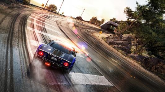 需要速度,隧道,独轮车,道路,紧追,路线