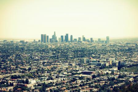 美国,加利福尼亚州,洛杉矶,城市,城市