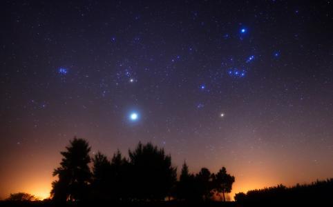 猎户座,木星,四分体,螺栓