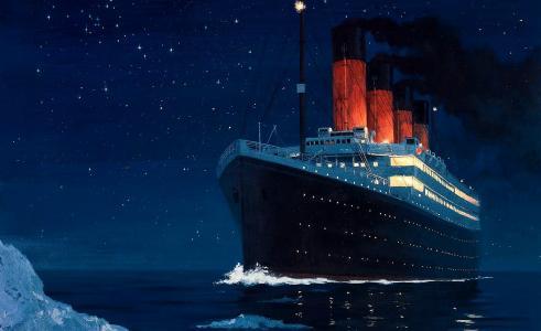 邮轮,船,船,泰坦尼克号