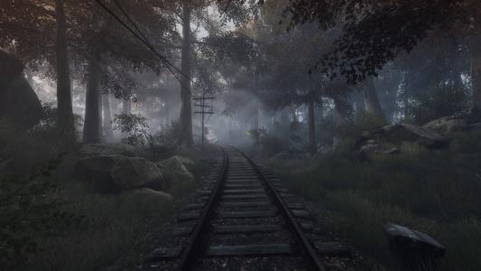 铁路,森林,石头,两极
