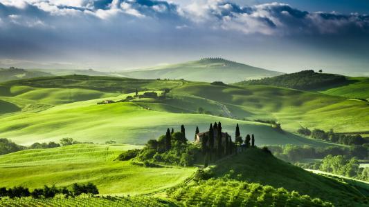 托斯卡纳,意大利,性质,绿化