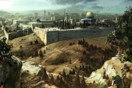 清真寺,耶路撒冷,刺客信条