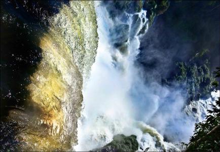 水,汗,秋天,岩石,森林,伊瓜苏瀑布,巴西,阿根廷,tamas nurtaev