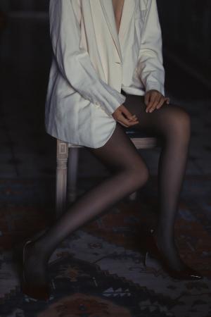 性感黑丝大长腿写真