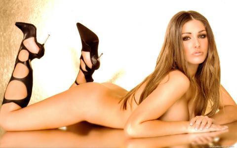 女孩,裸体,裸体,美丽,甜,gerl