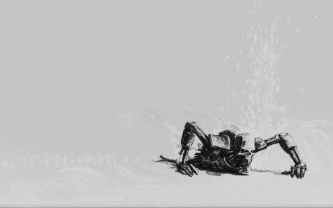 nekron,咧嘴笑,终结者,半机械人