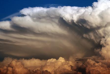 天堂是别致的,天空,云彩,美丽