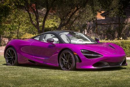 紫色,迈凯轮,MSO 720S,Coupe,Fux Fuchsia