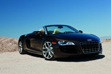 敞蓬车,汽车,V10,奥迪R8的Spyder,5.2,壁纸自动,Spyder,奥迪R8,2011,R8,自动