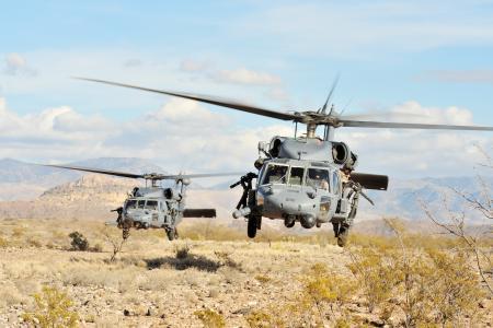 Sh-60,直升机,飞行,刀片,机枪