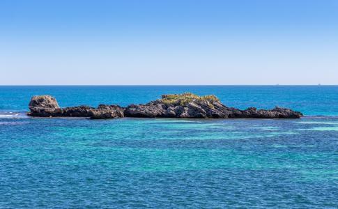 澳大利亚洛特尼斯岛自然风景