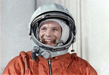 宇航员,英雄,尤里·加加林,微笑,传奇,飞行员